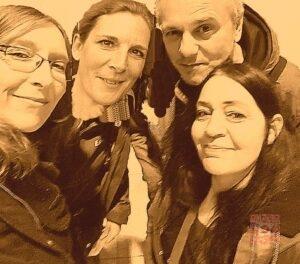 Der Vorstand von Notpfote ANimal Rescue e.V. (NAREV) von link nach rechts: Elke Balzer, Petra Hermida, Tom & Babette Terveer